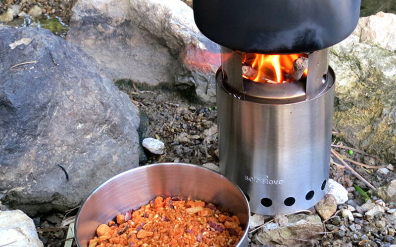 best compact camp fire stove with new technology