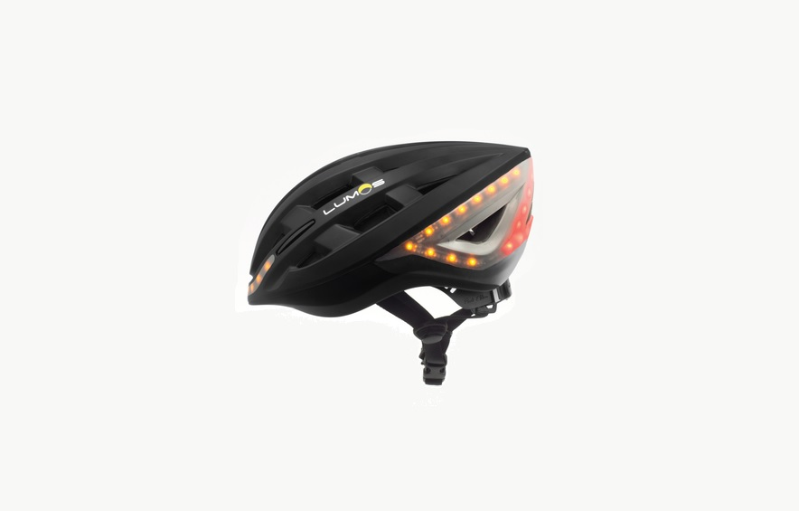 lumos smart bicycle helmet with led lights