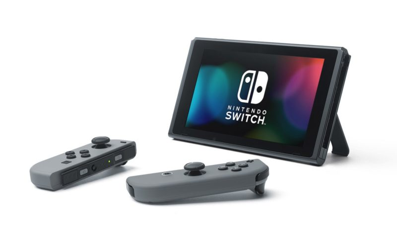 new nintendo switch portable gaming console with zelda