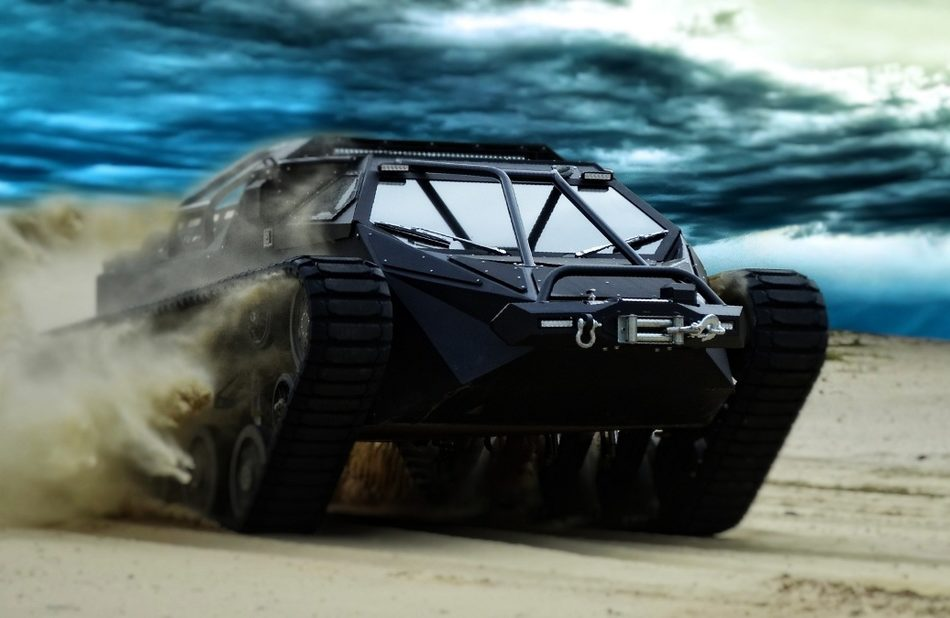 RIPSAW EV2 LUXURY SUPER TANK. FASTEST TANK, AND AVAILABLE TO THE PUBLIC