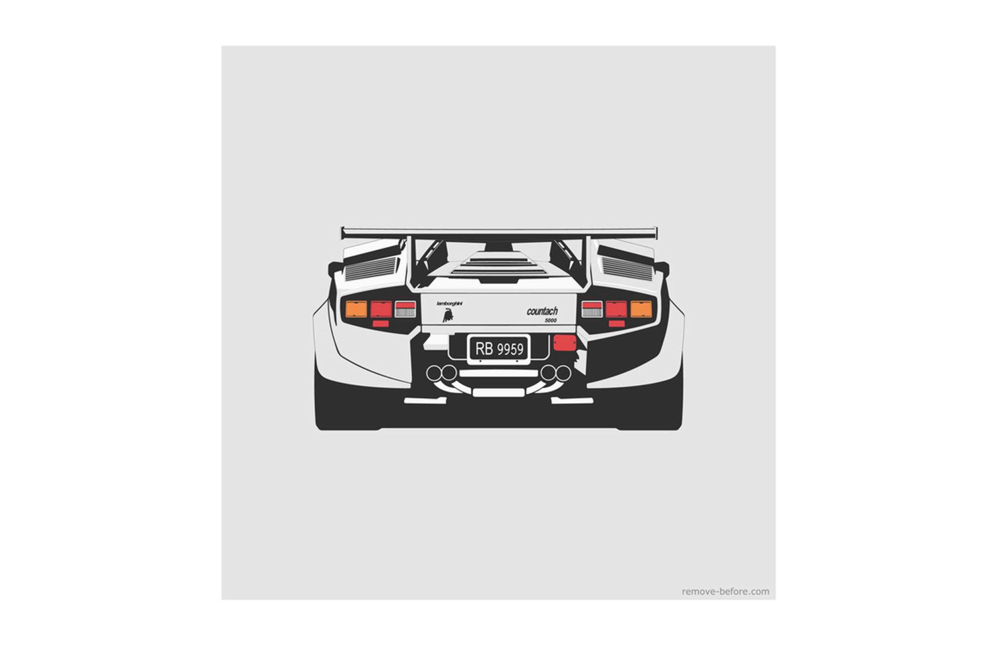 Remove Before Illustrations CAR ART