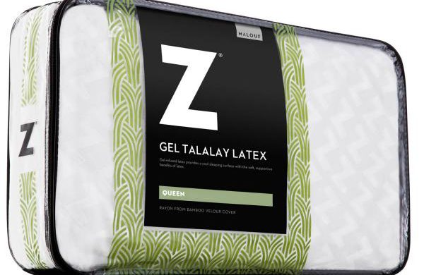 Malaouf Zoned Gel Talalay Latex Pillow BEST PILLOW SLEEP COMFORT
